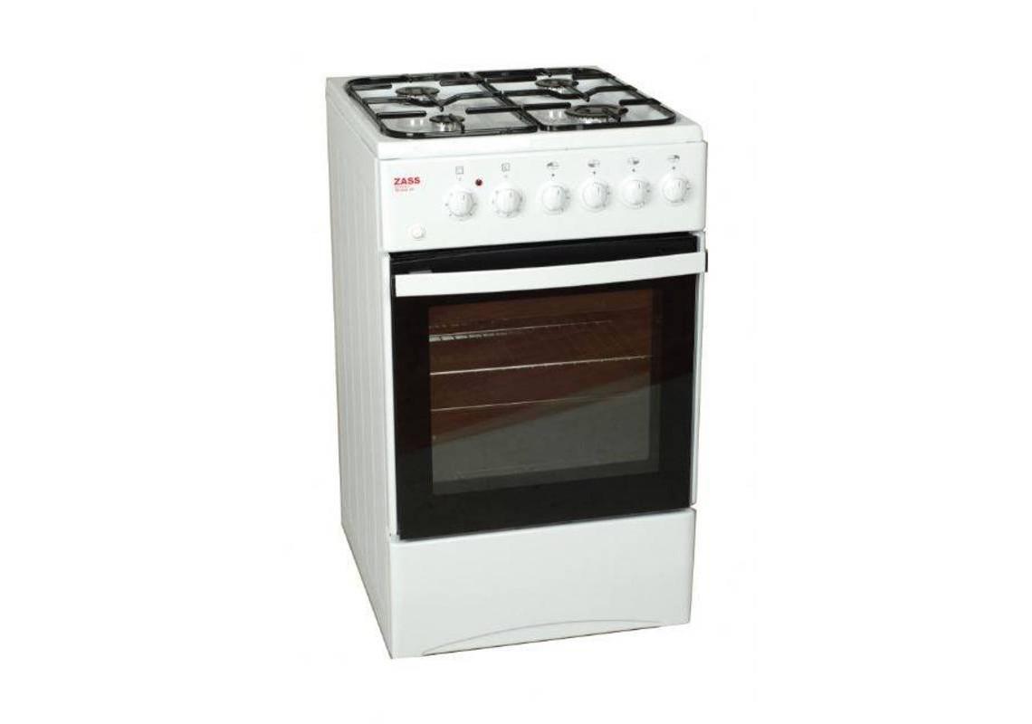cuisini re klass blanche tout gaz 50x60 cm. Black Bedroom Furniture Sets. Home Design Ideas