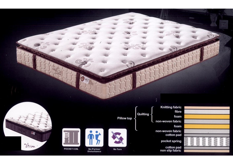 matelas beauty sleep 180x200 cm ressorts ensach s et sur matelas inclus matelas et oreillers. Black Bedroom Furniture Sets. Home Design Ideas