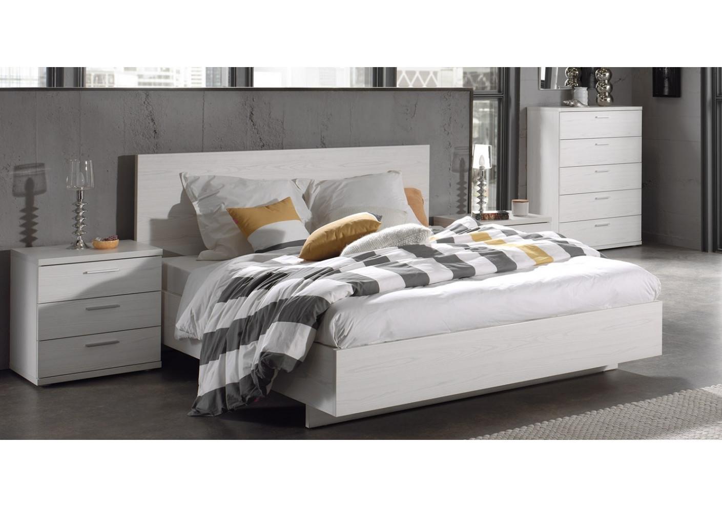lit 140x190 gael ch ne moonlight lits 2 places chambre. Black Bedroom Furniture Sets. Home Design Ideas