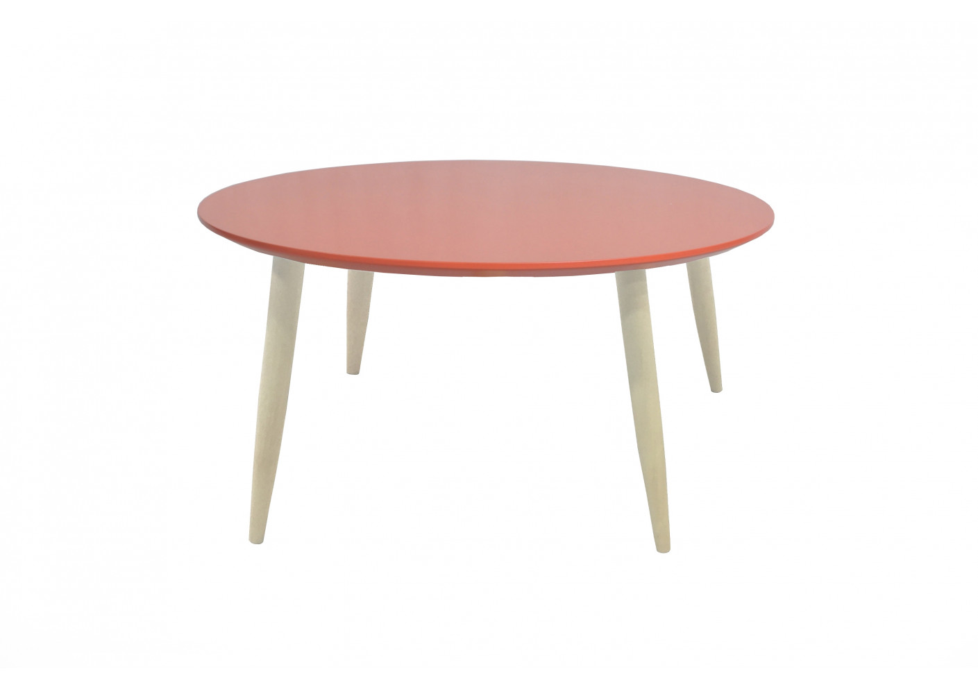 Table Manon Table Basse Ronde Basse Corail EH2IDW9beY