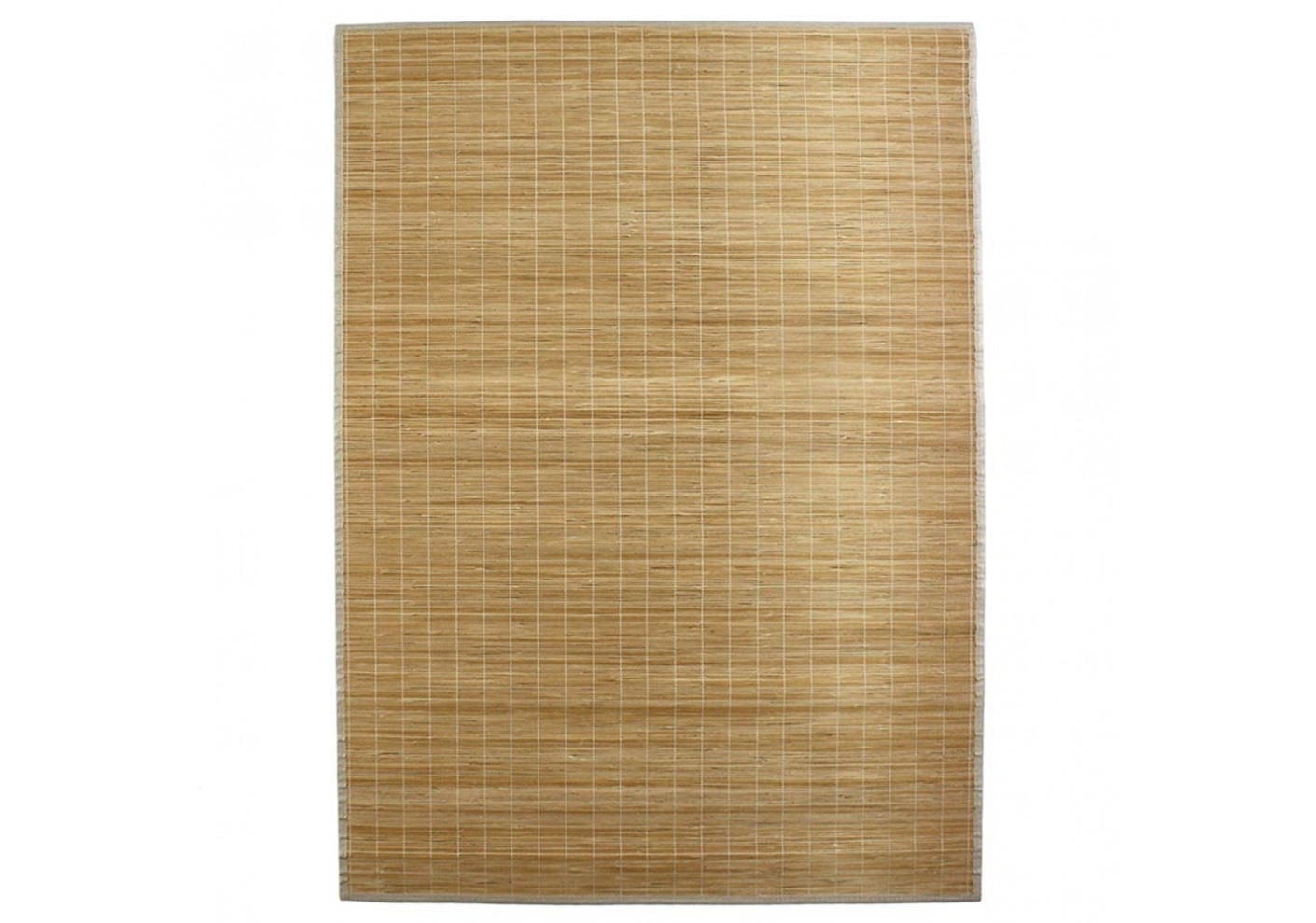 tapis en bambou fines lattes et ganse naturel l120 p170 tapis salon. Black Bedroom Furniture Sets. Home Design Ideas