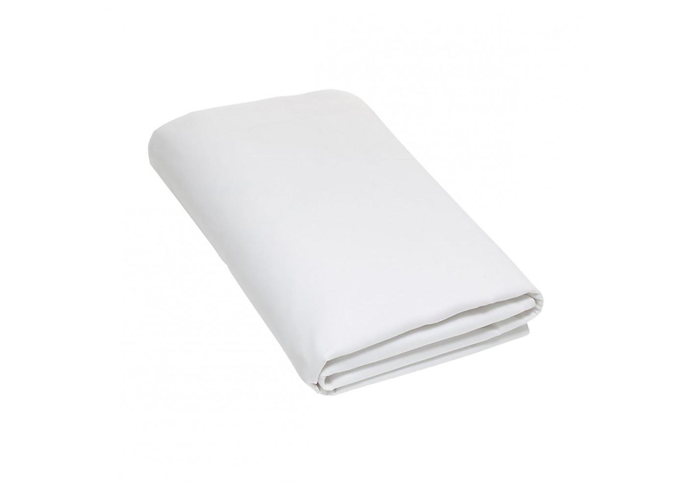 drap plat 270x300 blanc matelas et oreillers literie. Black Bedroom Furniture Sets. Home Design Ideas