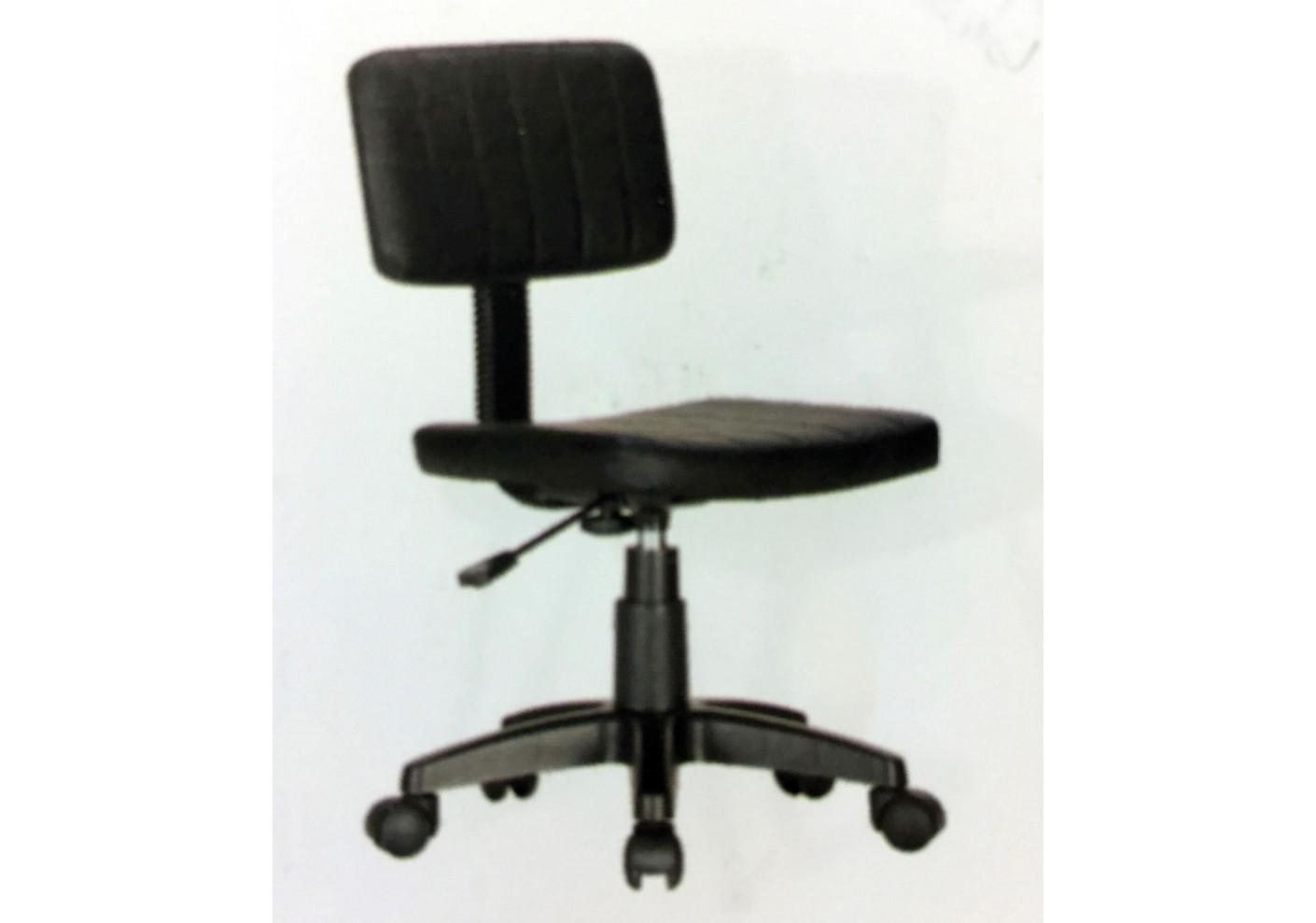 Chaise de bureau noire chaise de bureau sur roulettes relax noire