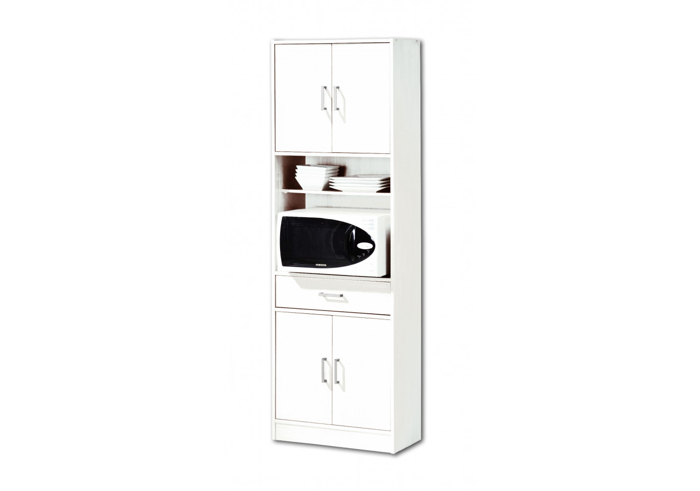 colonne de cuisine montblanc blanc dessertes de cuisine rangement. Black Bedroom Furniture Sets. Home Design Ideas