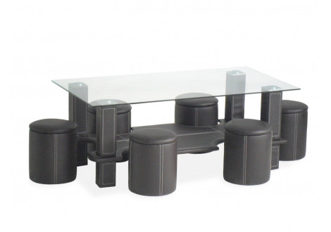Table basse COURTNEY Noir