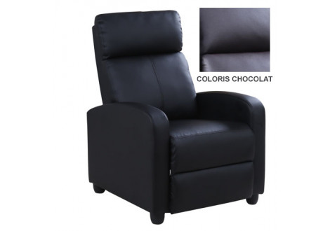 FAUTEUIL RELAXATION LYON CHOCOLAT