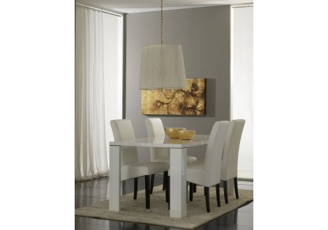 TABLE TANIA BLANCHE 160