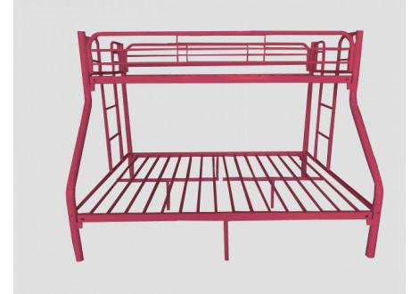 Lits superposés BOOBA rouge 140+90x190 cm