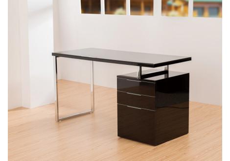 Bureau DILAN 3 tiroirs noir