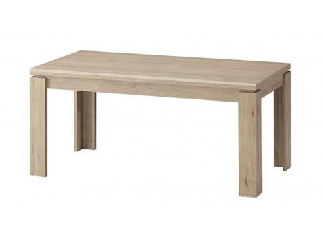 Table CALVI chêne clair relief 170x90 cm