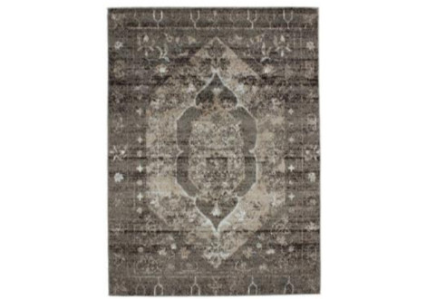 Tapis Casa Old Floral taupe