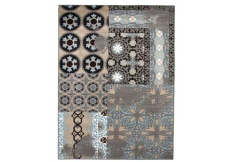 Tapis Casa Old Mosaiques gris