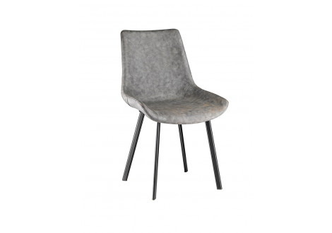 Chaise de salle à manger MODENA pu gris