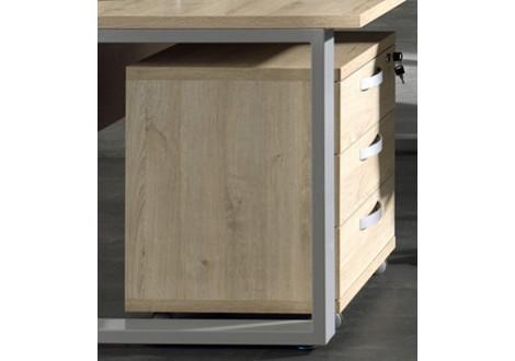 Caisson 3 tiroirs Largo chêne