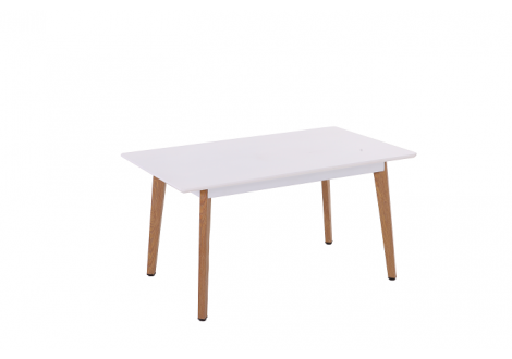 Table COLORADO bois/blanc