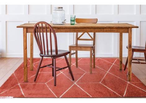Tapis Diams Terracotta 150x220