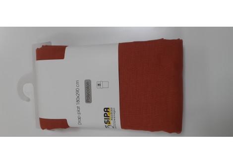 Drap plat 180x290 polycoton Ginger