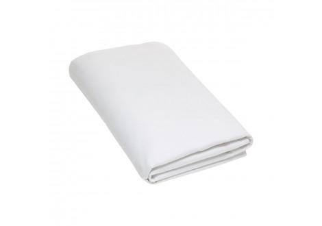 Drap plat 180x290 blanc 100 % coton