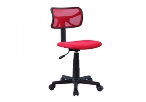 Chaise de bureau elite rouge noir