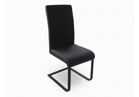 Chaise GALIA noir