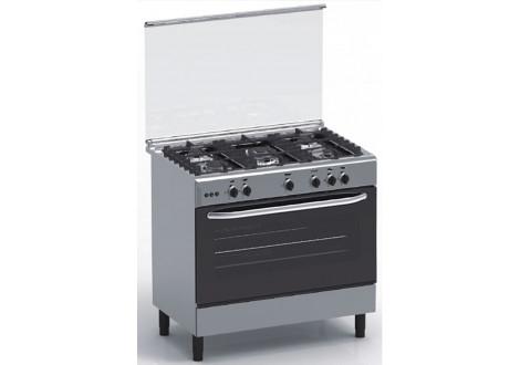 Cuisinière 5 feux gaz MAGIC POINT GX95 Inox