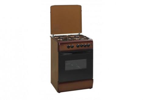 Cuisinière KLASS marron tout gaz 50x60 cm