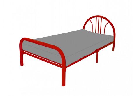 Lit BAMBINO rouge 90x190 cm