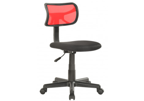 Chaise de bureau ELITE rouge/noir