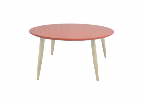 Table basse ronde MANON corail