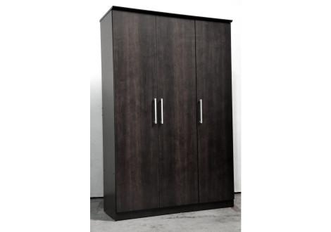 Armoire MISA 3 portes ébéne
