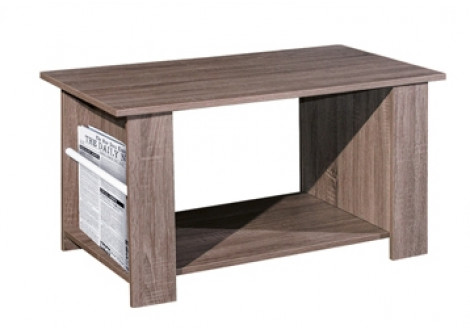 Table basse NEWS décor chêne sonoma