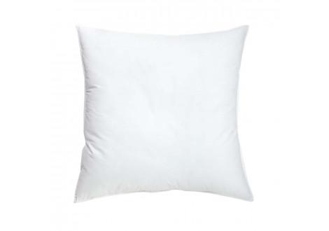 Taie oreiller 63x63cm blanc