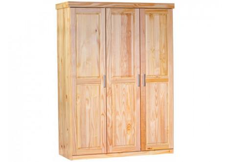 Armoire PELLE 3 portes pin massif