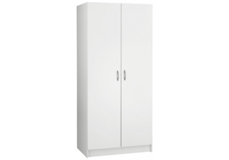 Armoire Penderie blanche 2 portes