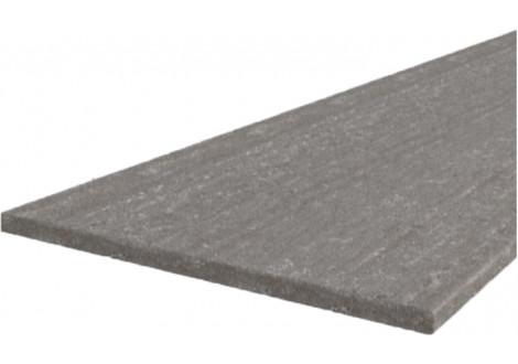 GREY/SONOMA/BIANKA - plan de travail 3 m de long marbré gris