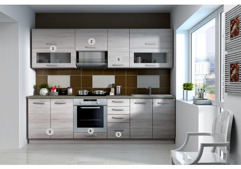 SONOMA - meuble haut angle 60x60