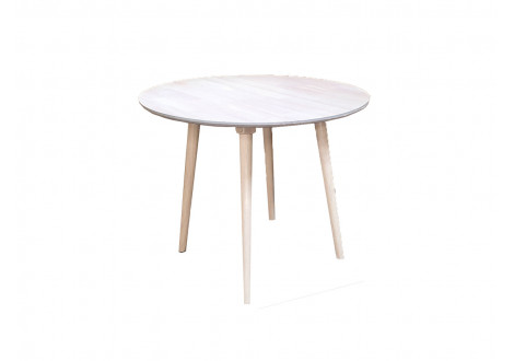 Table ronde 90 BETTY chêne naturel