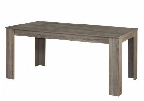 Table rectangulaire MOKA chêne grisé 170x90 cm