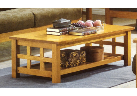 Table basse OSAKA vernis naturel