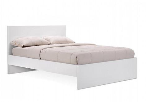 Lit VOGUE blanc 140x190 cm