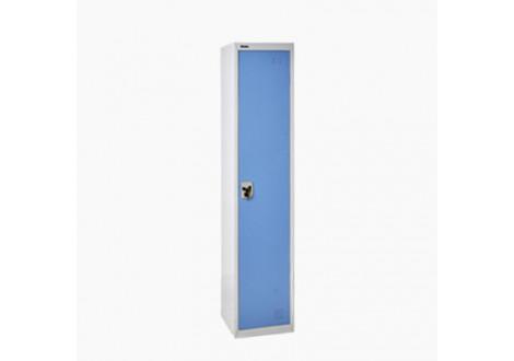 Vestiaire 1 P ind. sale métal gris et bleu VS-1S
