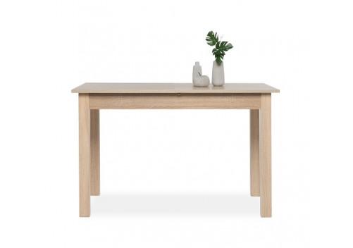 table de salle manger extensible coburg ch ne 4 8 personnes. Black Bedroom Furniture Sets. Home Design Ideas