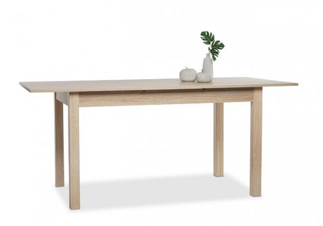 Table de salle à manger extensible COBURG chêne - 4 8 personnes ad3a1ee0797b