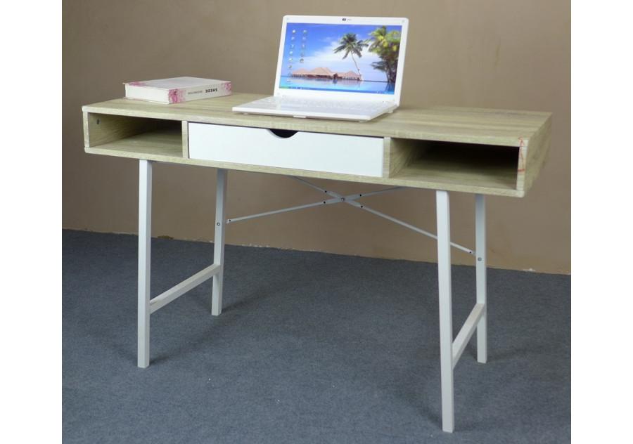 bureau informatique oslo ch ne clair blanc. Black Bedroom Furniture Sets. Home Design Ideas
