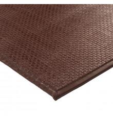 Tapis SKIN 140x200cm chocolat