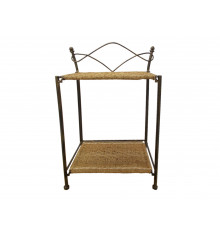 CHEVET/CONSOLE RUBY BRONZE