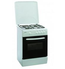Cuisinière KLASS blanche tout gaz 60x60 cm