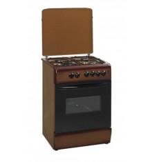 Cuisinière KLASS marron tout gaz 60x60 cm
