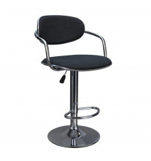 Tabouret de bar ALFREDO noir - lot de 2
