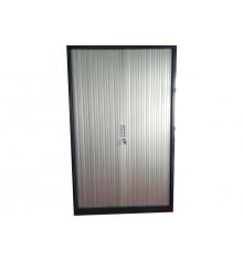 Armoire à rideaux métallique coloris anthracite ARR-195